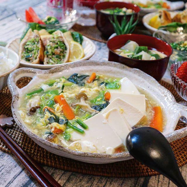 野菜と豆腐のトロトロ煮