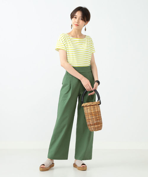 [BEAMS WOMEN] ORCIVAL / ボーダー Tシャツ