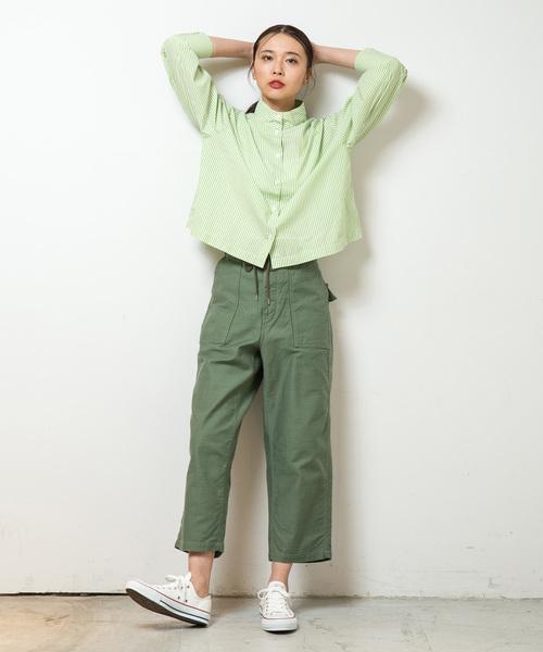 [JAPAN BLUE] NURSERY:ワイドベイカーパンツ