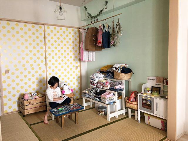 和室を改造したポップで楽しい女の子部屋2