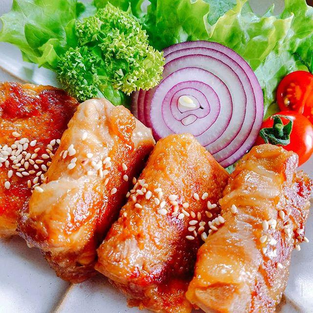 高野豆腐の豚肉巻き