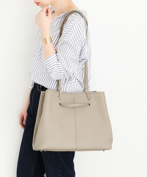 [URBAN RESEARCH ROSSO WOMEN] レザートートバッグ