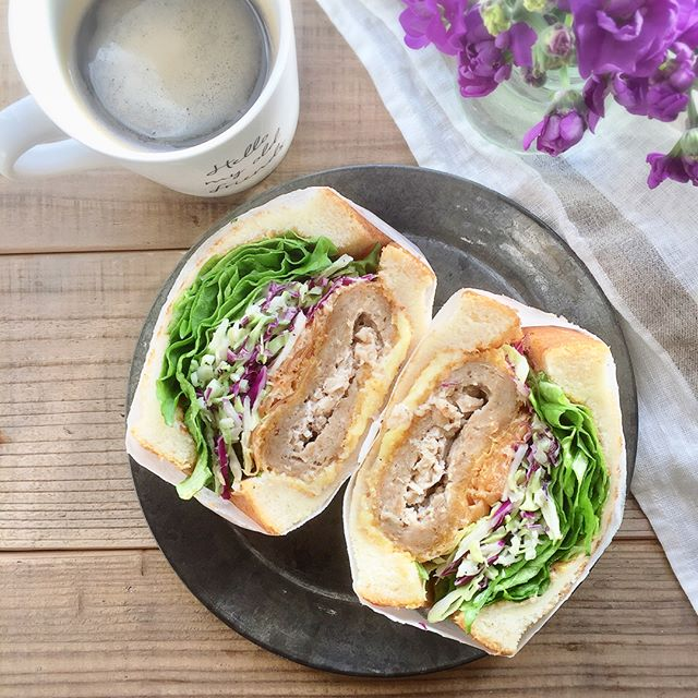 おしゃれ サンドイッチ 肉11