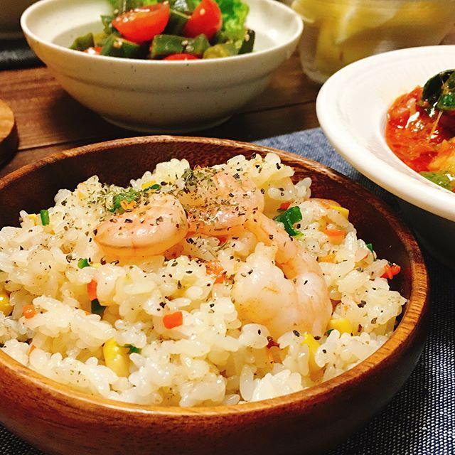 えびの人気レシピ【パン・ご飯】11