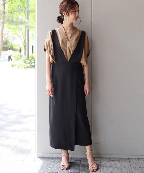 夏の黒スカートコーデ6