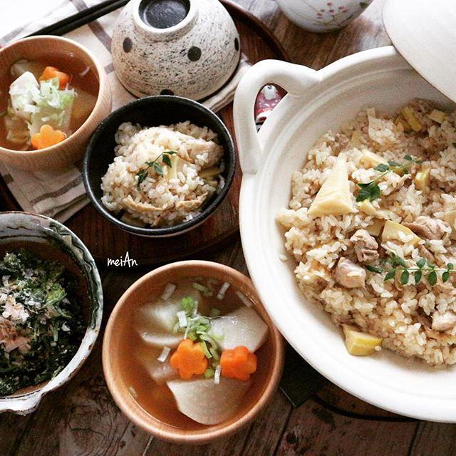 土鍋 レシピ 炊き込みご飯5
