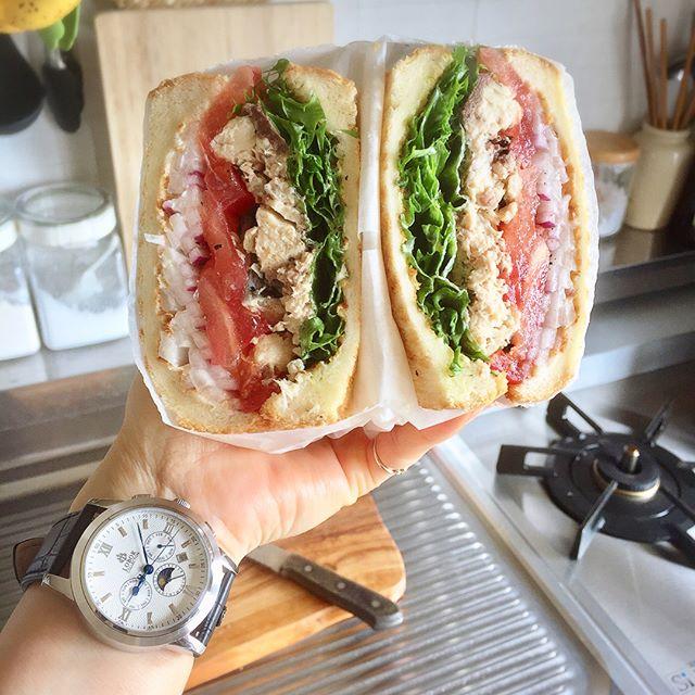おしゃれ サンドイッチ 魚8