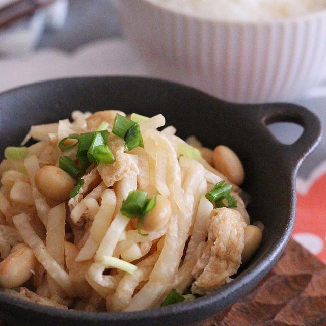 大根の簡単レシピ 炒め物 焼き物2