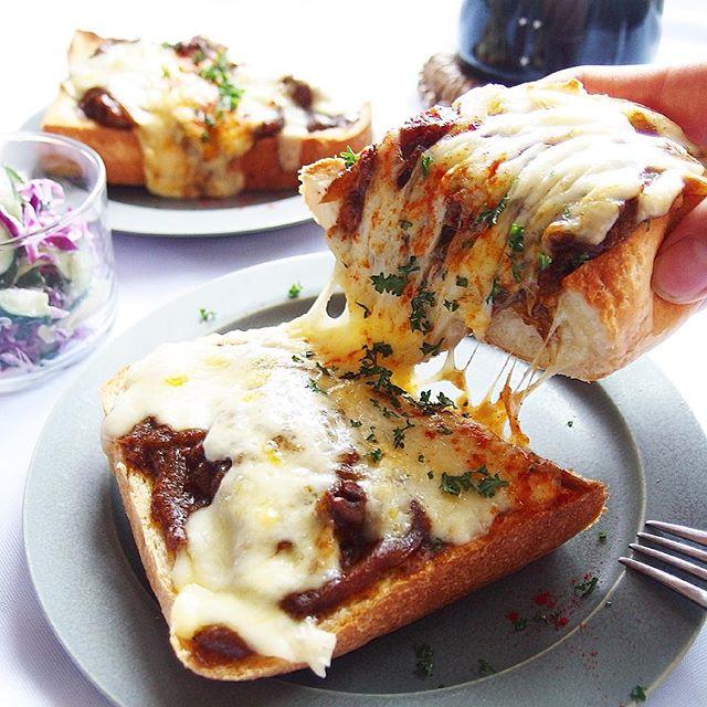 朝食におすすめのパンのアレンジレシピ8