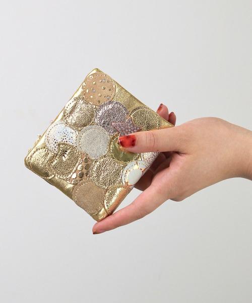 [tsumori chisato CARRY] 新マルチドット 折財布
