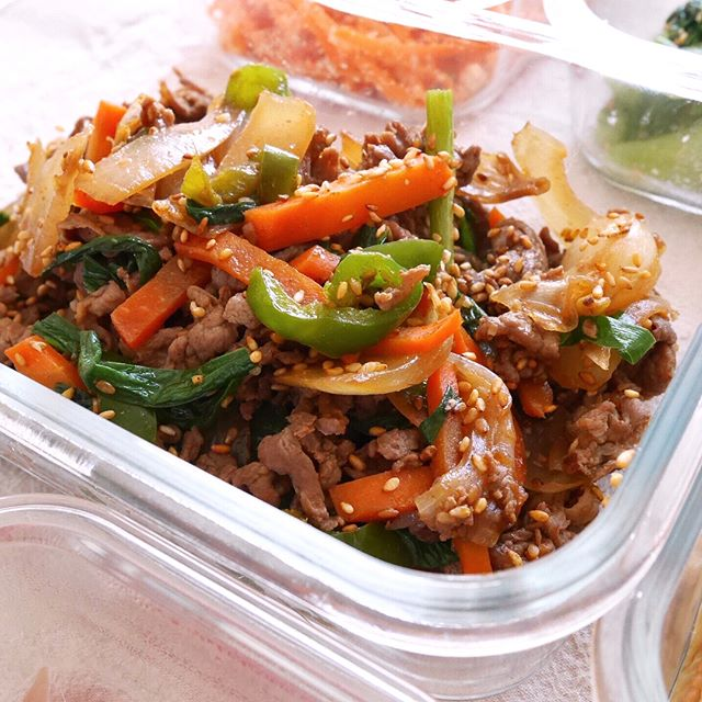 作り置きにおすすめの野菜の炒め物6