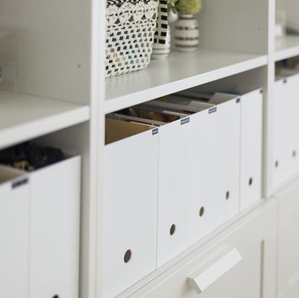 ファイルボックスは5cmの隙間が大切!2