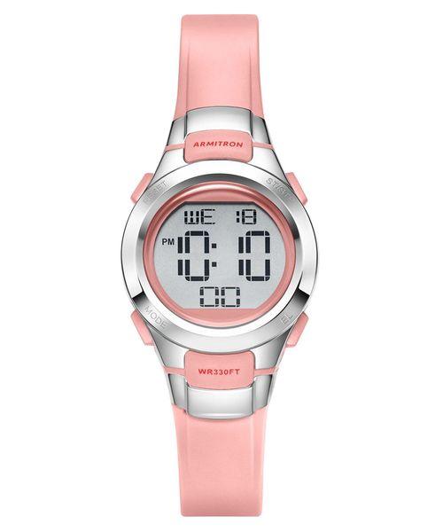 [OF LIFE] ARMITRON 腕時計 レディース デジタル スリム スポーツウォッチ