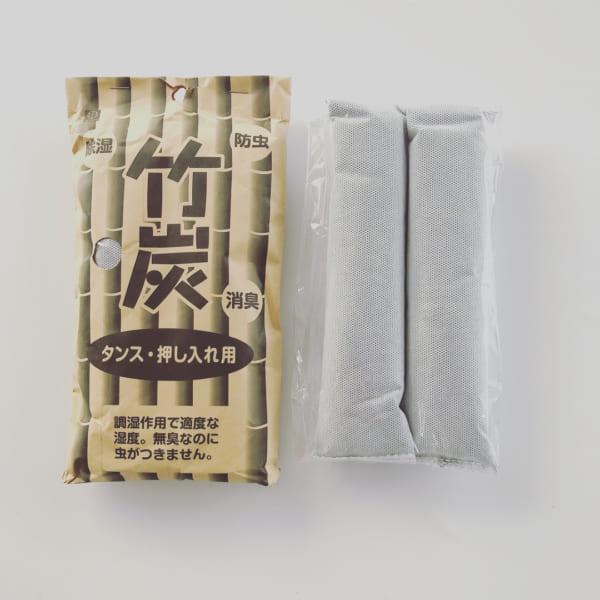 防虫・除湿・消臭効果のある竹炭
