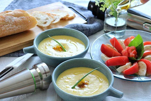 夏 冷製スープ4