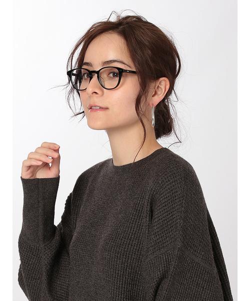 [ETRE TOKYO] ボストン伊達メガネ