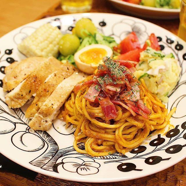 ワンプレート ご飯 ディナー4
