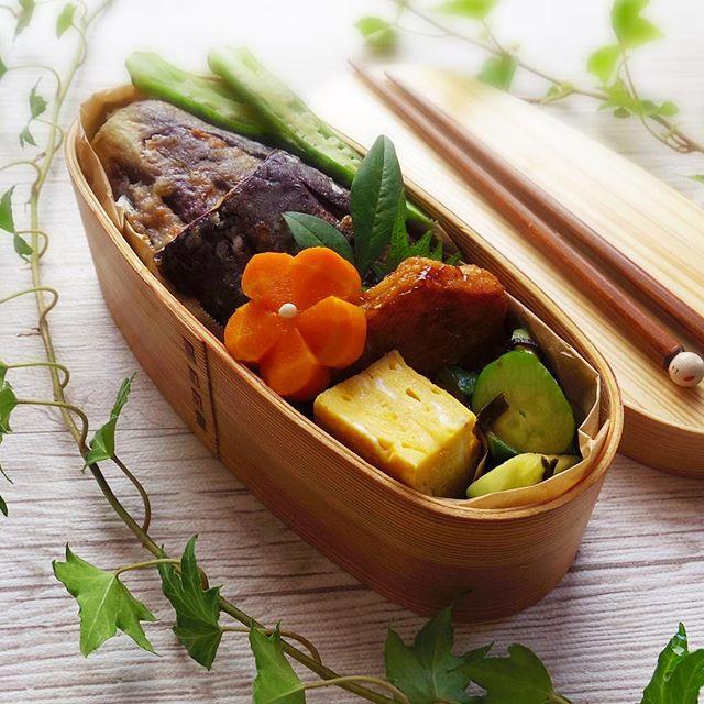 夏に食べたいなすのお弁当レシピ2