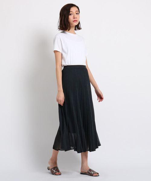 [DRESSTERIOR] LEVITAサマーニットプリーツスカート