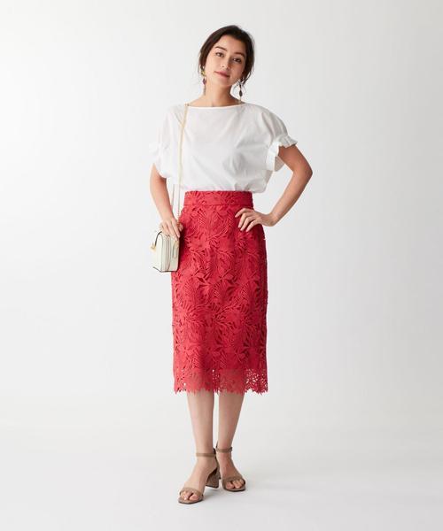 ◆FC ケミカルレース Iラインスカート