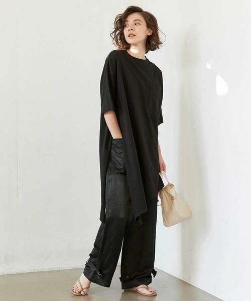 [GALLARDAGALANTE] オーバーポケットTシャツ【オンラインストア限定商品】