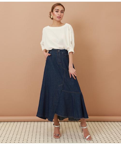 [ANAP] アシメデザインスカート