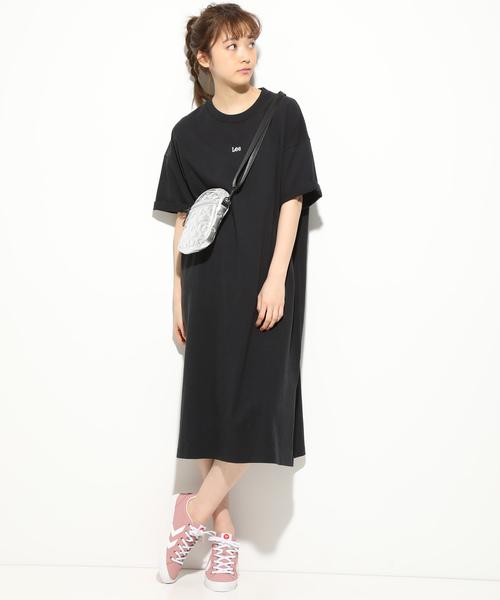 [ViS] 【Lee×ViS】Tシャツワンピース