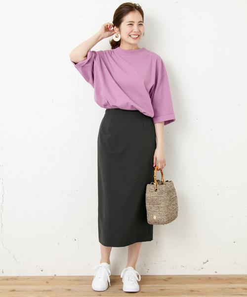 [URBAN RESEARCH] カラータイトミディスカート