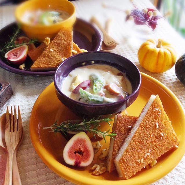 朝食のパンと相性の良いスープ12