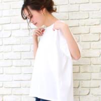 「白Tシャツ」はかなり着回せる!白Tを使った大人のオン・オフコーデ15選☆