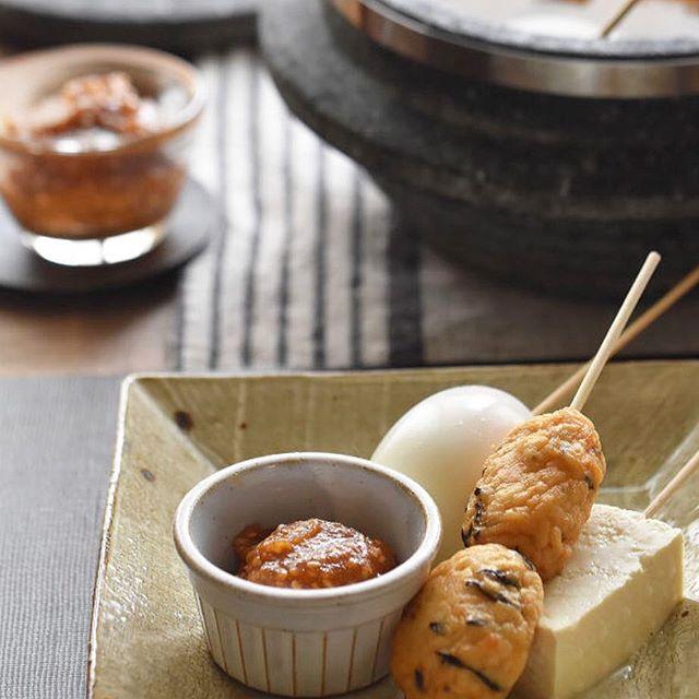 愛知県の味噌おでん