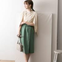 さらっと着こなせる♪リネン素材の「タイトスカート」コーデ15選