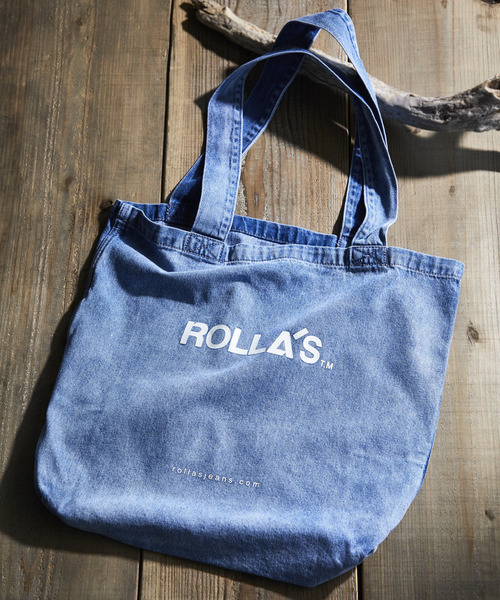 [JACK & MARIE] ROLLA'S DENIM TOTE BAG デニムトートバッグ