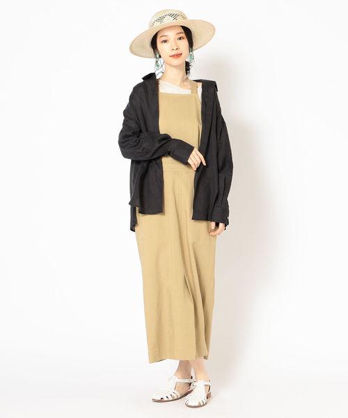 [SHIPS for women] サフィランリネンビッグシャツ