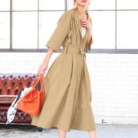 気温28度に最適な大人女子の服装50選!日中の暑さ&夜の肌寒さに対応できるコーデ