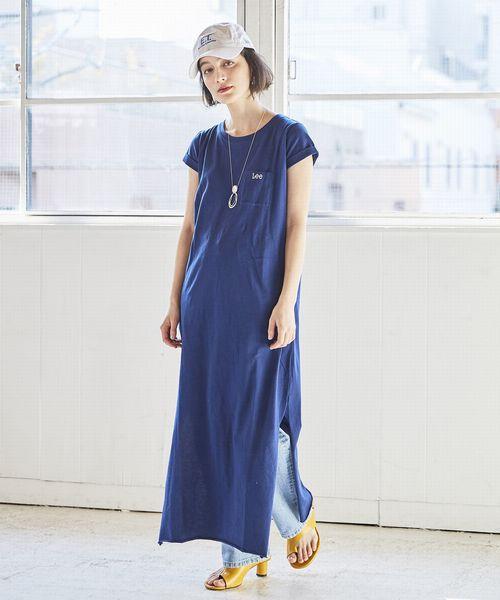 [Lee SHOP] カットソー ドレス