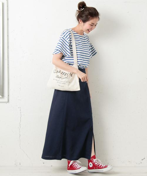 [URBAN RESEARCH] ラップロングスカート