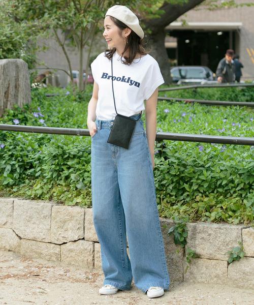 [URBAN RESEARCH] フレンチロゴプリントTシャツ2