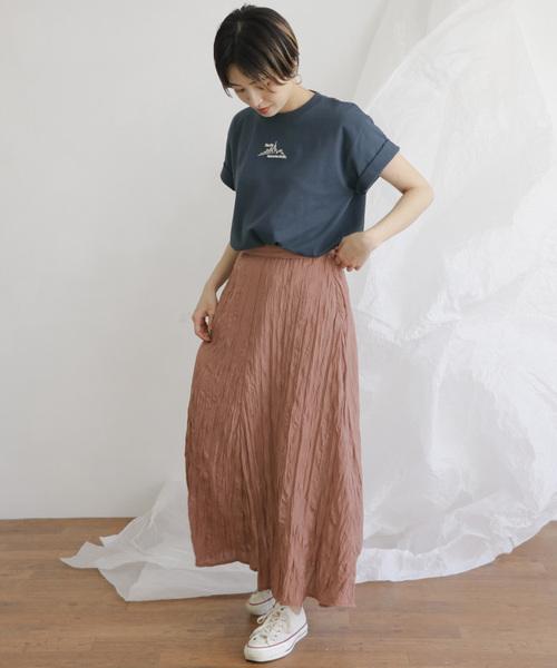 [KBF] スモールモチーフロゴTシャツ