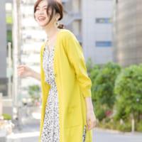 黄色トップスの夏コーデ特集♪大人ファッションを華やかにするアクセントカラー