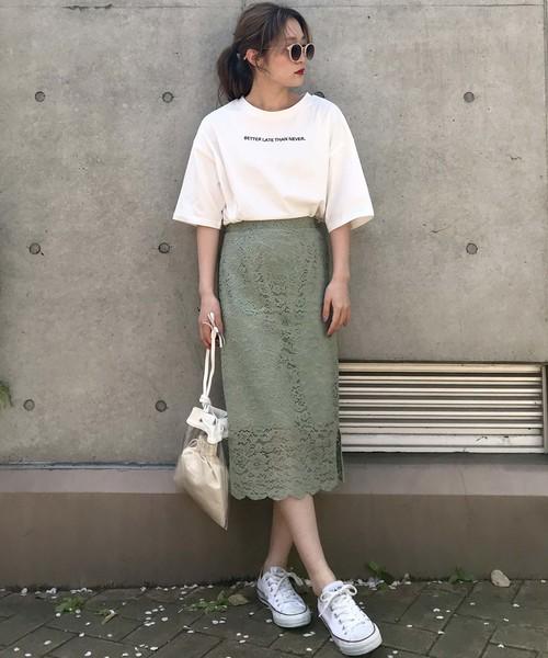 [archives] 【限定item!!】フラワーレースタイトスカート