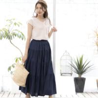 夏のスカートコーデ50選!30代40代が着こなす上級者ファッション