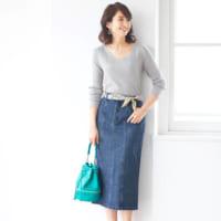 素材やシルエットで印象がガラッと変わる!スカートの種類別にコーデを紹介♡