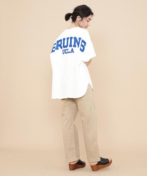[ADAM ET ROPE'] 【WEB限定】カレッジTシャツ2