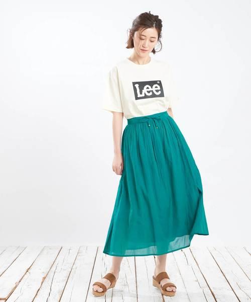 [Discoat] 【Lee】コラボボックスロゴTシャツ2