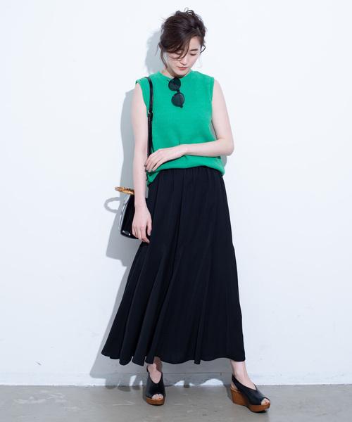 [YARD PLUS] AUNT MARIE'S ロングマーメイドラインスカート