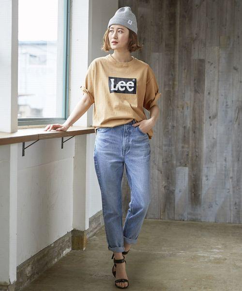 [Lee SHOP] 【ユニセックス】ボックスロゴ Tシャツ