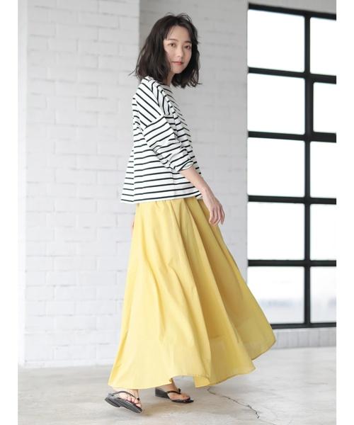 [CRAFT STANDARD BOUTIQUE] カラーフレアースカート