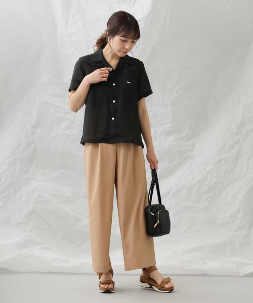 [Gready Brilliant] 開襟半袖シャツ
