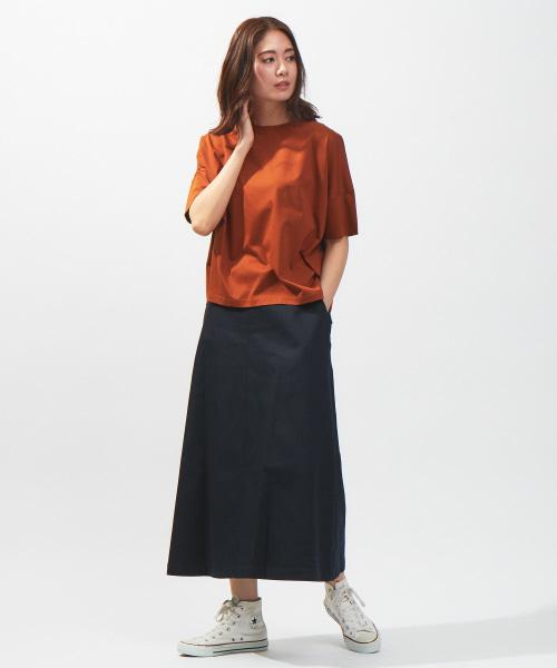 [MYSELF ABAHOUSE/collex] トラベーズラインスカート